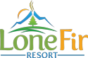 Lone Fir Resort Logo